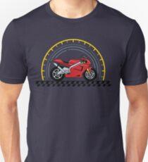 VVintage Racing Motorcycle T-Shirt