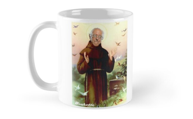 St. Bernie of Assisi by wonkette