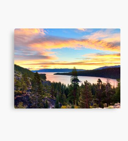Emerald Bay Sunrise Canvas Print