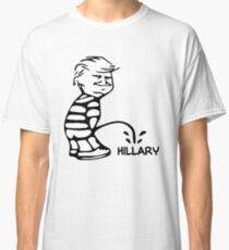 Funny Trump vs Hillary Classic T-Shirt
