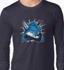 STUCK - Blue Fox / Fuchs (dark backgrounds) Long Sleeve T-Shirt