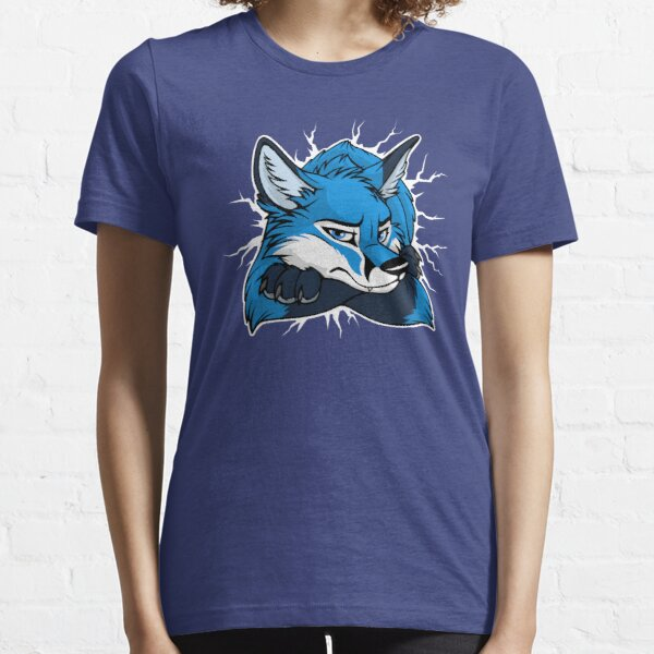STUCK - Blue Fox / Fuchs (dark backgrounds) Essential T-Shirt
