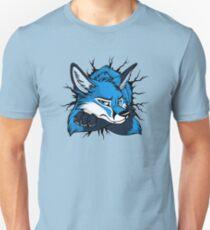 STUCK - Blue Fox / Fuchs (bright backgrounds) Unisex T-Shirt