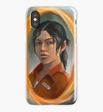 chell (portal 2) iPhone Case/Skin