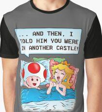PEACH'S SECRET Graphic T-Shirt