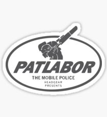 Patlabor (Grey) Sticker