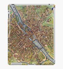Vintage Historic Paris Map iPad Case/Skin