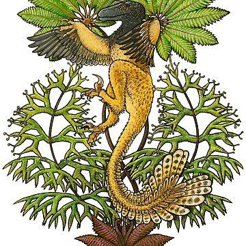 Utahraptor by irimali