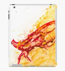 Playstation Journey Man Watercolor Original Splash Art iPad Case/Skin