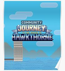 Journey To The Center Of Hawkthorne Poster