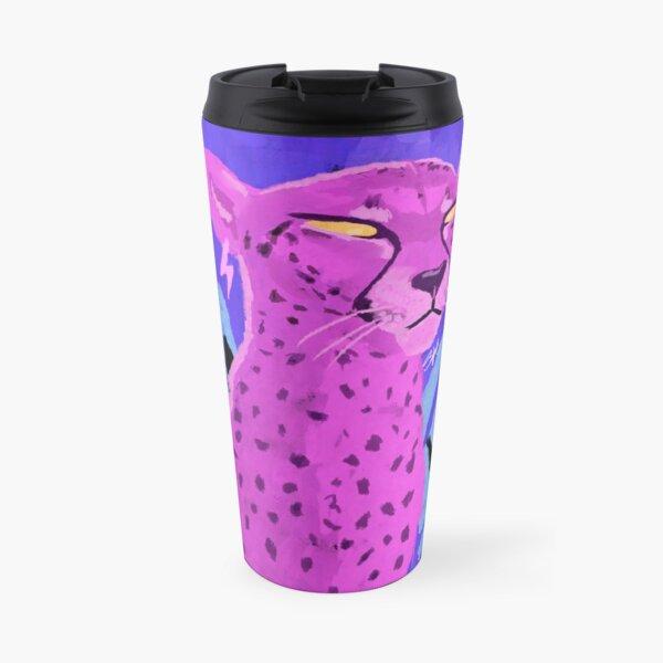 Bold Cheetah Travel Mug