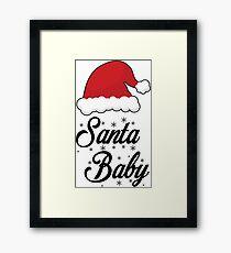 Santa Baby Framed Print