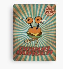 Doduo Burger Canvas Print