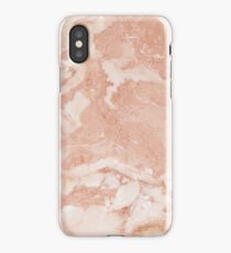 Pink Rose Marble iPhone Case/Skin