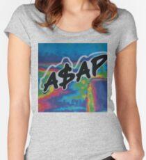A$AP  Tailliertes Rundhals-Shirt
