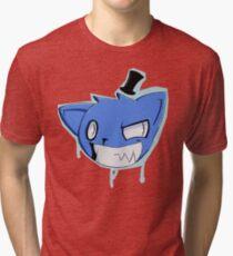 Blue hat boi Tri-blend T-Shirt