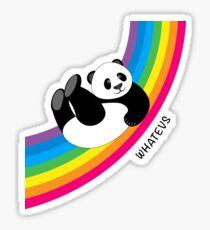 Happy Rainbow Panda Sticker