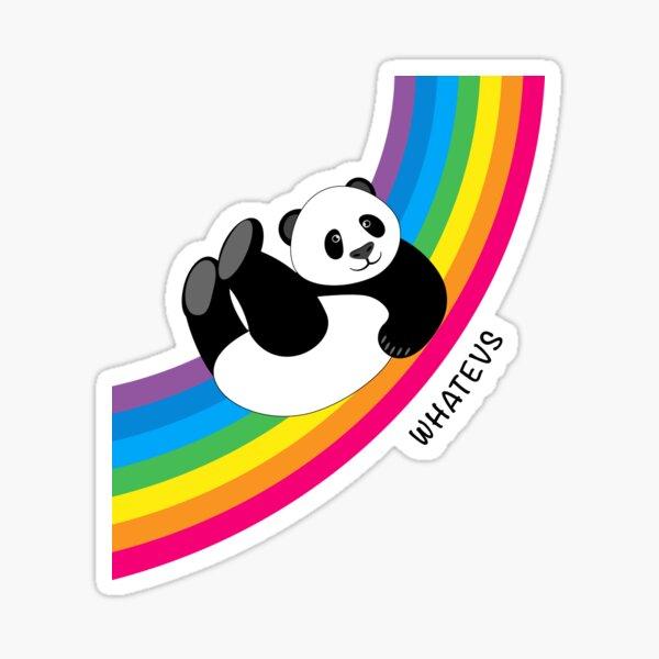 Joyeux Rainbow Panda Sticker