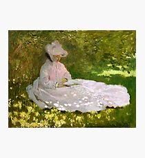 Springtime by Monet Photographic Print
