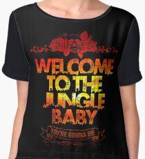 Welcome to the jungle Women's Chiffon Top