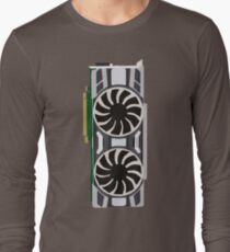 Minimal EVGA GTX 1080 Long Sleeve T-Shirt