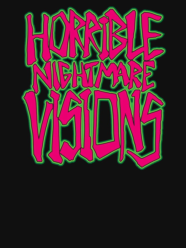 Horrible Nightmare Visions by MoragHickman