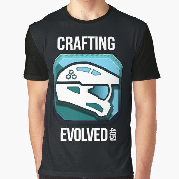 405th Crafting Evolved Medal Graphic T-Shirt