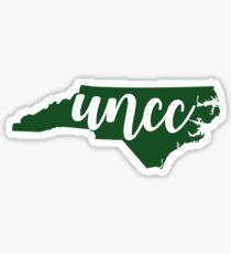 UNC Charlotte, NC Sticker