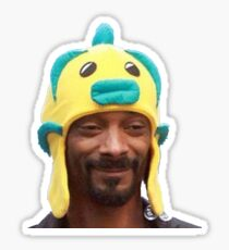 Snoop Fishh Sticker