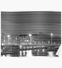 pic2line - Bridge in Amsterdam 1/3 Poster