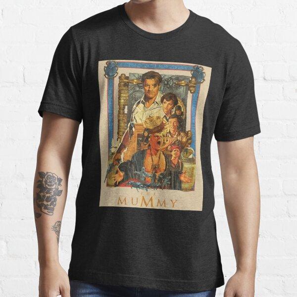 Brendan, Fraser poster- the Mummy Essential T-Shirt