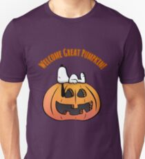 Welcome Great Pumpkin   T-Shirt