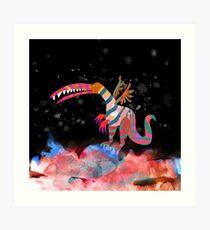 Childhood Dragons - the Twilight Dragon Art Print