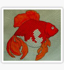 Transcendental Goldfish  Sticker