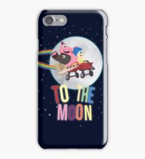 To The Moon! iPhone Case/Skin