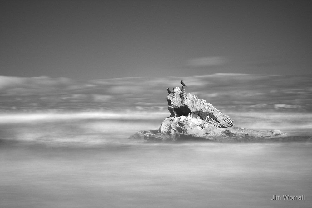 Boag Rocks - St Andrews Beach by Jim Worrall