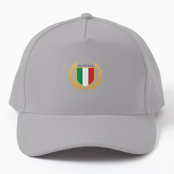 Marsala Italy Baseball Cap
