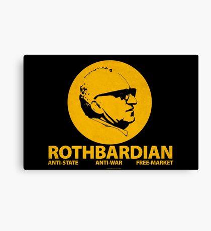ROTHBARDIAN Canvas Print