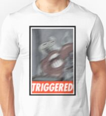 """Mr. Crab """"Obey Triggered"""" T-Shirt"""