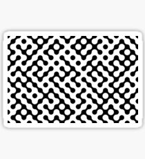 Continuous   halftone background Sticker