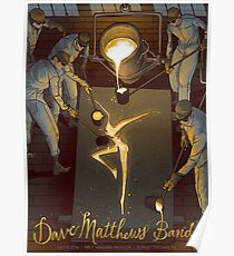 DMB First Niagara Pavilion Burgettstown PA, SUMMER TOUR 2016 Poster