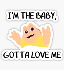 Baby Sinclair Sticker
