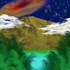 Cosmic Forest by Cranemann
