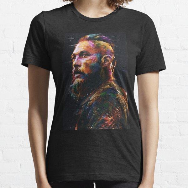 Ragnar Lothbrok Retro Essential T-Shirt