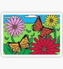 Monarch Butterflies Sticker
