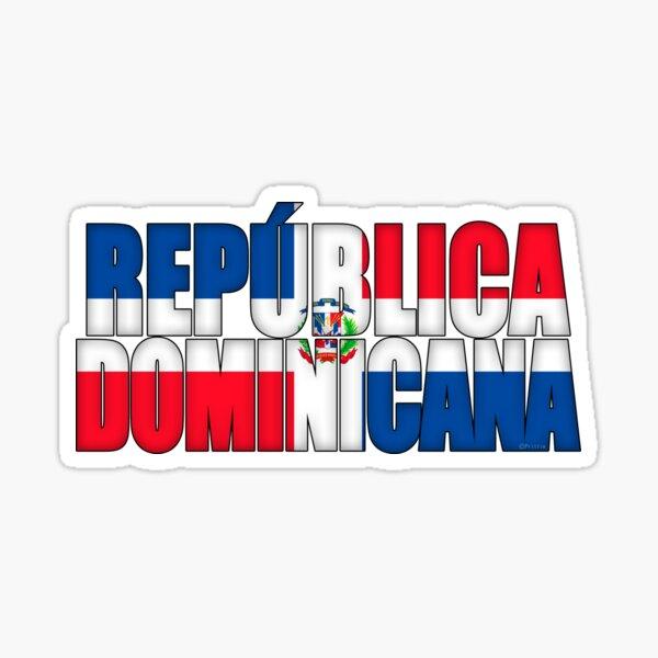 Bandera de República Dominicana Pegatina