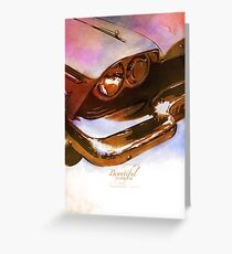 Classics Car VIII Greeting Card