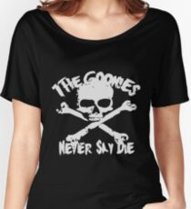 The Goonies Never Say Die Women's Relaxed Fit T-Shirt