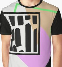 Abstract Geometry Graphic T-Shirt
