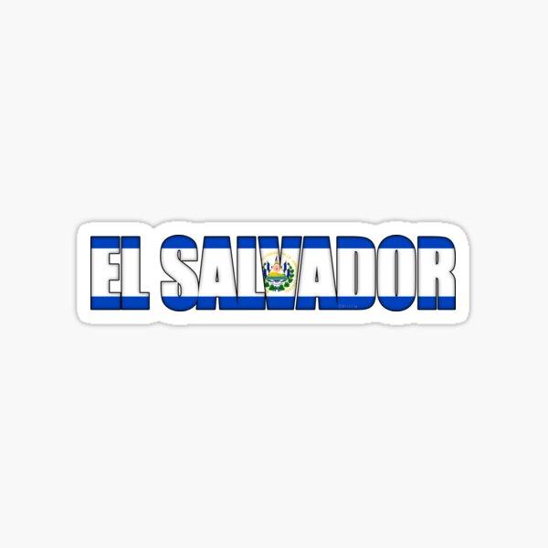 Bandera de El Salvador Pegatina